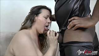 AgedLovE British Mature Interracial Hardcore Sex