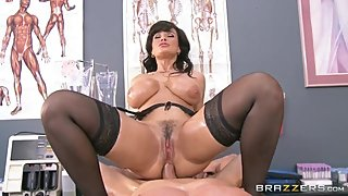 Lisa Ann Horny Anal Doctor - Watch the full clip on PornIntegrityDOTcom