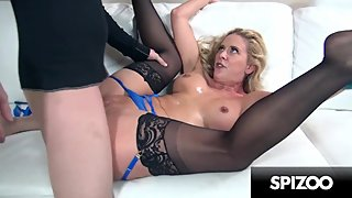 Stunning MILF Cherie DeVille gets Fucked really hard in POV