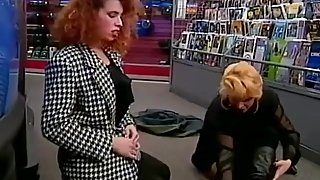 Mozenrath Presents : Beauty MILFS Public Lesbian In Shop