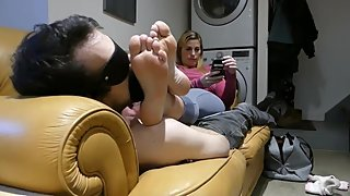 Mistress Alisha Bartlett - Stinky Foot Sniffing Punishment (Preview)