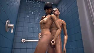 The Twist Xtreme story 3D Kira the shower 2