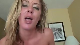 Naughty stepmom gets hard fucked by stepson in ALL holes on vacation