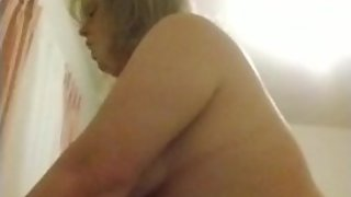 Just a fat girl riding a cock