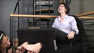 Milf Samantha tickled