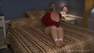 992 Half Hour of Self Bondage & Bound Orgasms - Caught on Hidden camera!