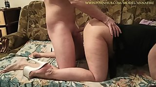 Mother Teach Step Son About Sex - Anna Fire - Mom