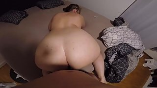 Horny wife after Christmas dinner