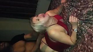 Husband films his busty wife gets rough drilled by her first BBC