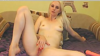 Milf Blonde Masturbation Solo Webcam in C__ECH. Ceca. Cehio.