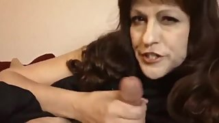 Taboo! Slutty mature stepmom seduces and fucks her stepson