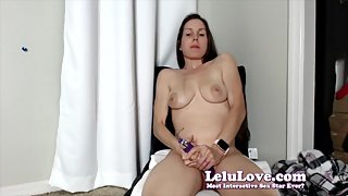 Trying on thongs g strings bikinis and masturbating all live - Lelu Love