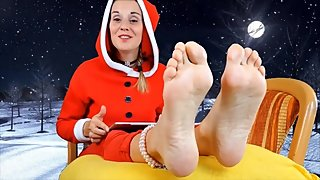 Mrs Claus Sexy Christmas Soles