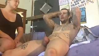 Slutty stepmom with big tits gets hard anal drilled by her stepson