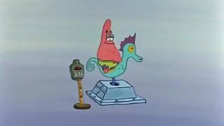 Patrick riding a seahorse - 10 hours