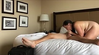 My horny wife cheating on me with her new boss