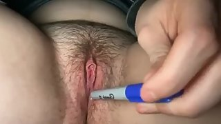 Wet Teen Plays With Pussy For Step Bro