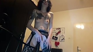 Dirty Slut Lucy Bedpost Fuck