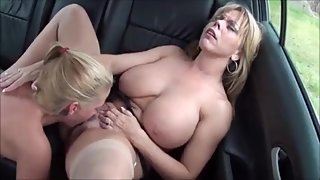 Mom Seduces Daughter