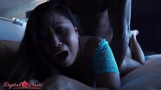 Lord Black the Dom serves Asian MILF Krystal Davis BBC for Breakfast in Bed