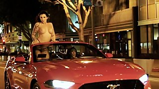 Jules Jordan - Tag Team Duo Angela White & Ivy Lebelle Find Dark Meat