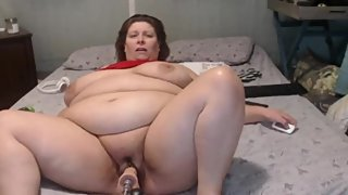 bbw cums badly