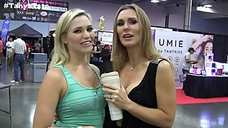 British MILF Tanya Tate Interviews Porn Star Mia Malkova - Video Games