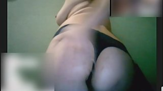 Webcam hunt #1. Horny milf showing her body on webcam.