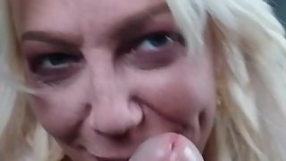 Hottest Milf Blowjob. Cock Worship to Swallow Cum.