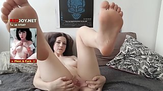 Mom Feet JOI