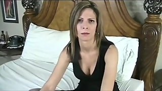 Slutty stepmom gets hard anal fucked by her stepson with very big cock