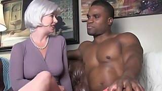 Shameless wife cheating on husband with her black boss with BBC